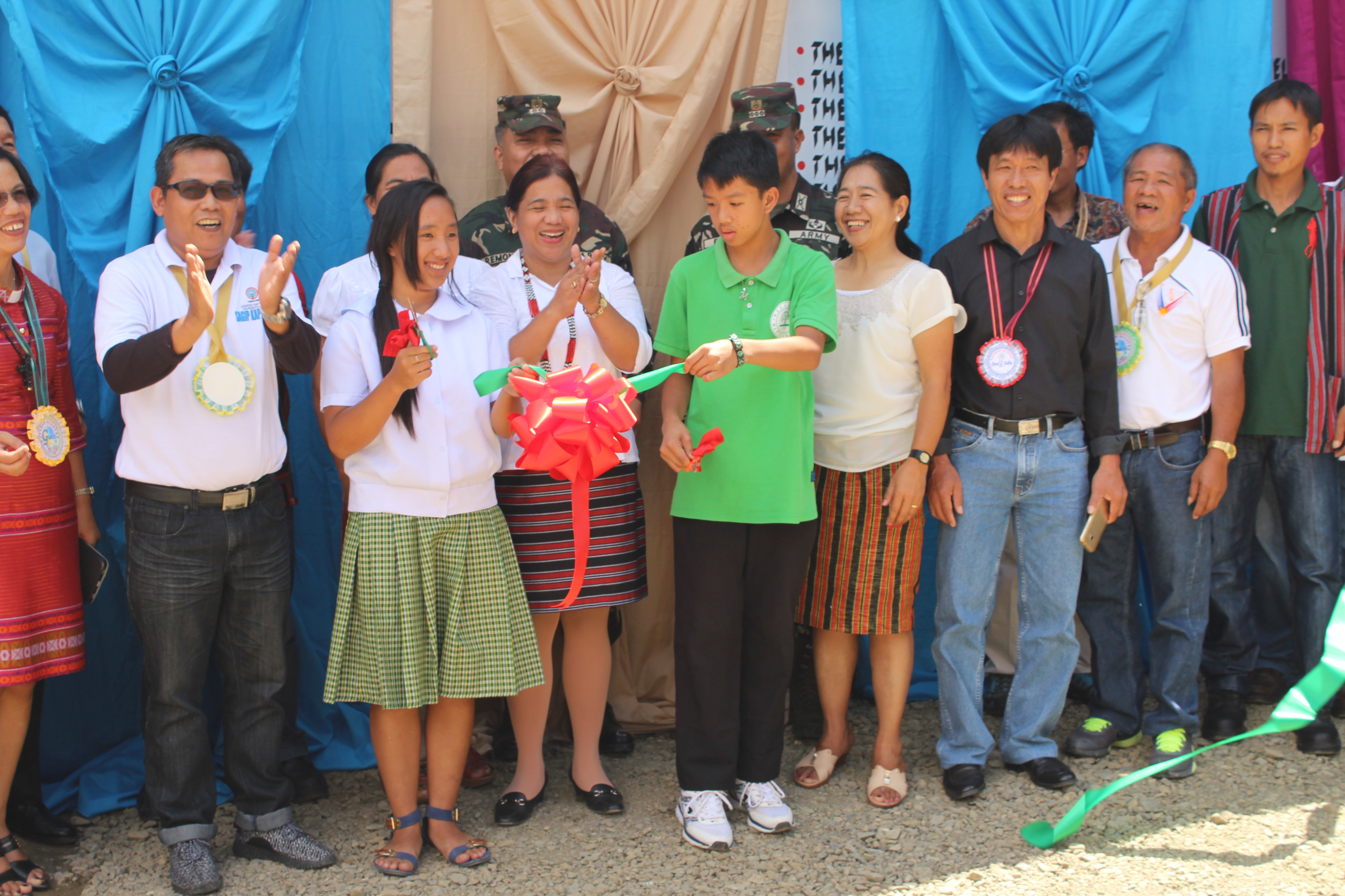 A student  Kalahan Academy in Barangay Imugan, Sta. Fe, Nueva Vizcaya