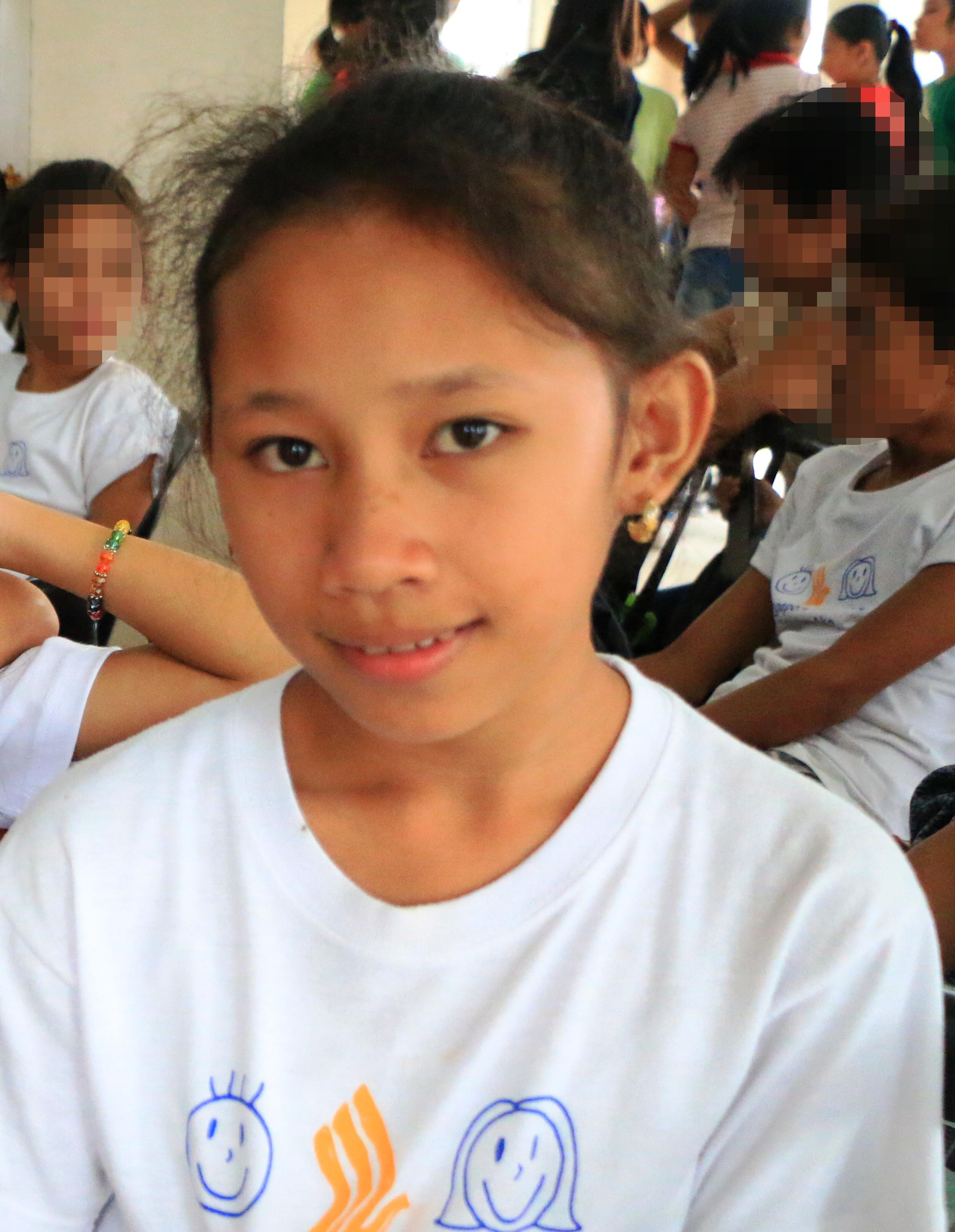 Alyssa Marie Gerolao, Bantay Bata 163 scholar
